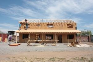 Caretakers House Under Construction