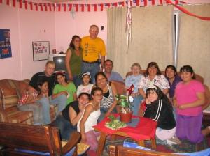 Team visiting a casa