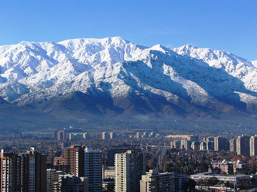 Why do you go to Chile every year?